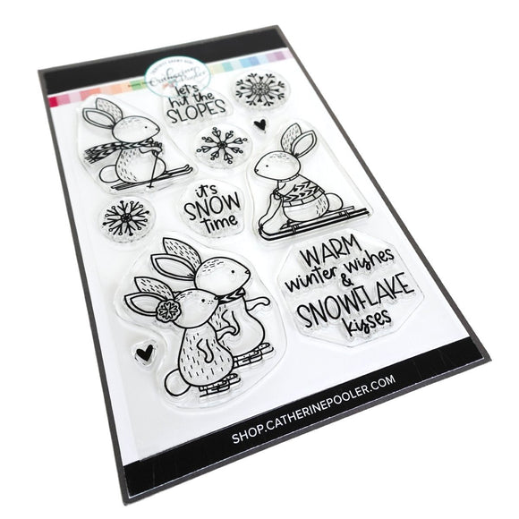 Catherine Pooler - Bunny Slopes Stamp Set