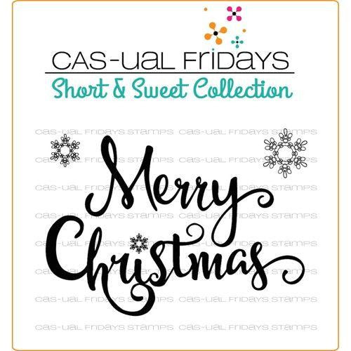 CAS-ual Fridays Stamps - Merry Stamps