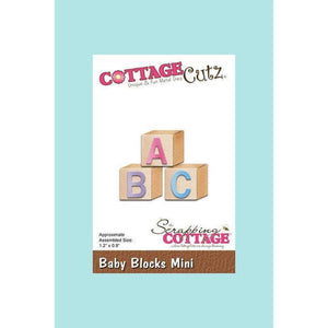 CottageCutz Die - Baby Blocks