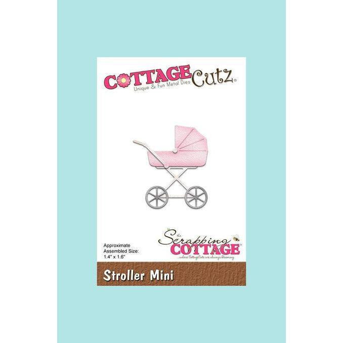 CottageCutz Die - Stroller Mini