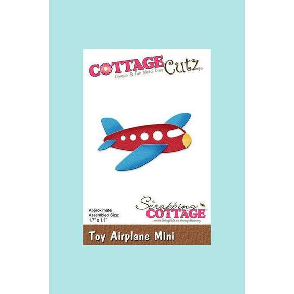CottageCutz Die - Toy Airplane
