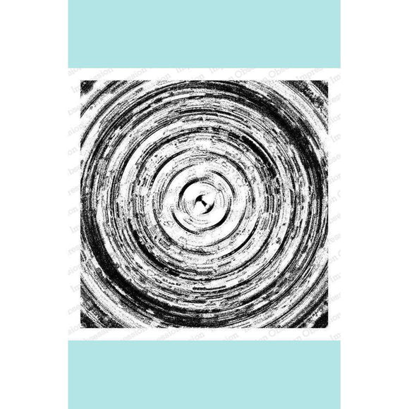 Impression Obsession Abstract Circles Stamp