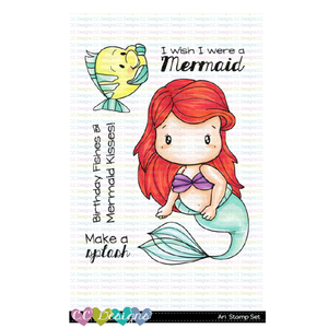 CC Designs - Ari Clear Stamp Set