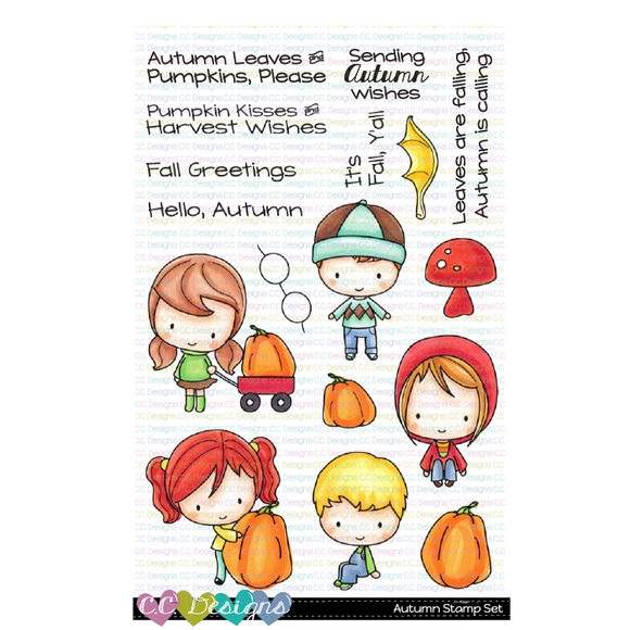 CC Designs - Autumn Clear Stamp Set
