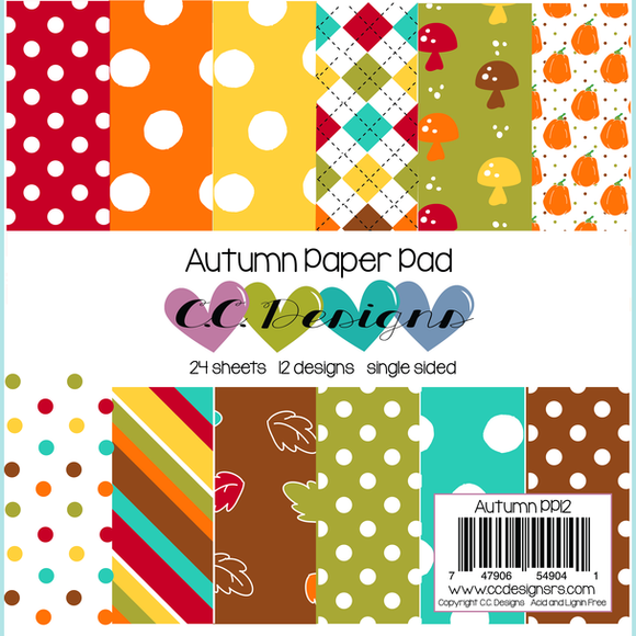 CC Designs - Autumn Paper Pad