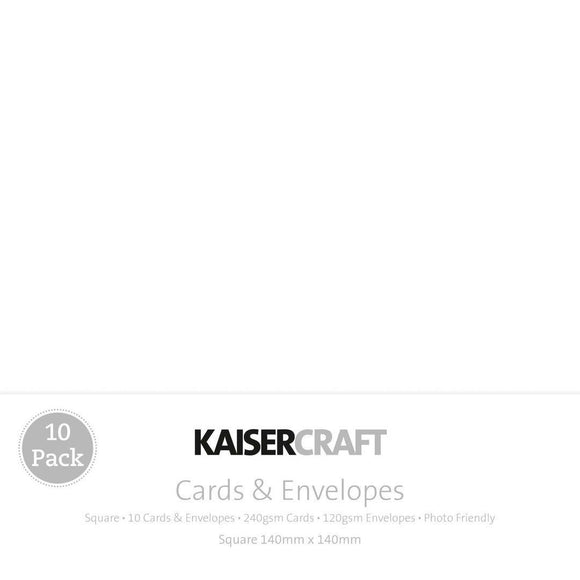 Kaisercraft - Cards & Envelopes - Square