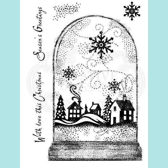 Woodware - Clear Stamp - Snowglobe