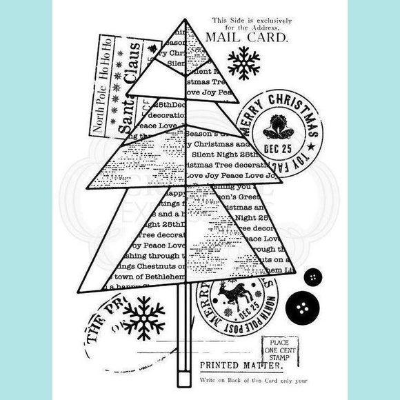 Woodware - Clear Stamp - Paper Tree