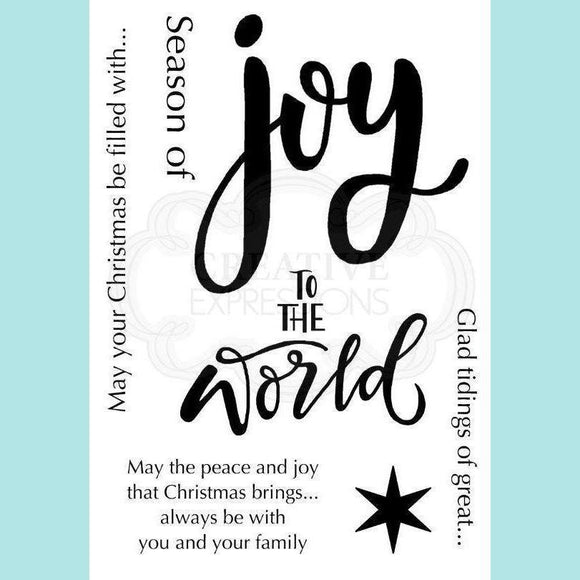 Woodware - Clear Stamp - Oh Joy