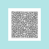 Hero Arts Irregular Grid Bold Prints Stamp