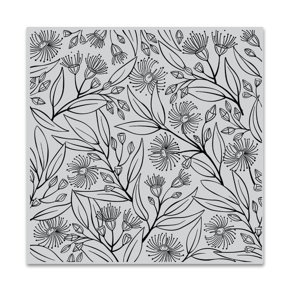 Hero Arts -  Eucalyptus Bold Prints Cling Stamps