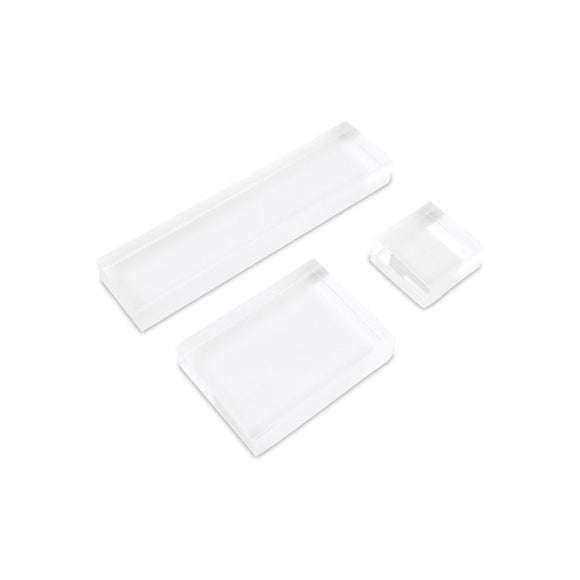 Acrylic Blocks for Stamping – Arts and Crafts Supplies