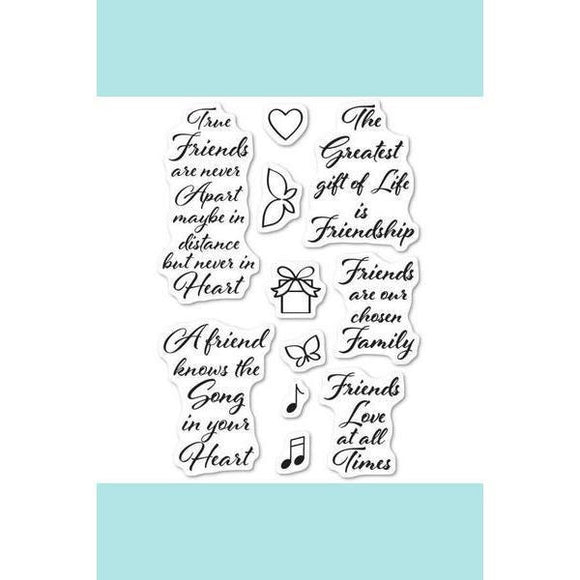 Poppystamps - Love and Friendship Stamp