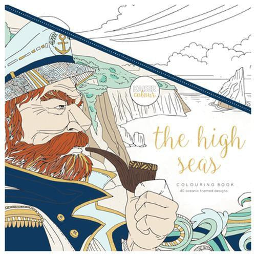 KaiserCraft - Kaisercolour The High Seas Colouring Book