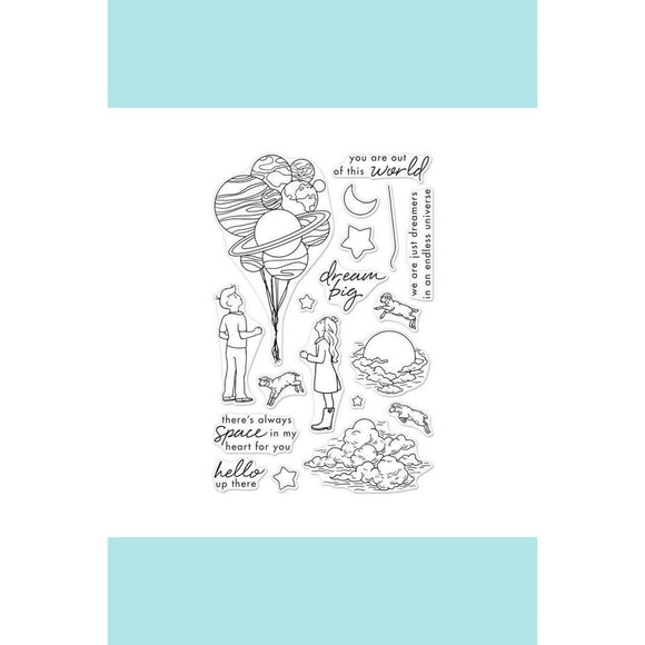Hero Arts -  Dream Big Stamp and Frame Cuts Bundle CM197 _  DI427_