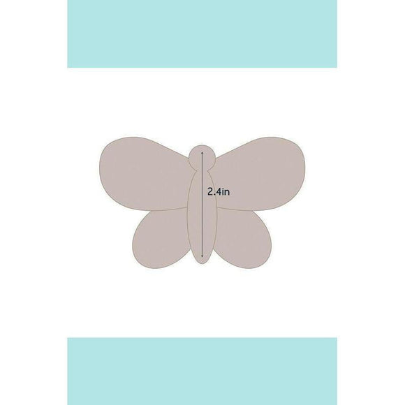 Couture Creations Quilting Essentials Applique Die - Butterfly 2