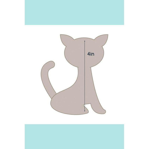 Couture Creations Quilting Essentials Applique Die - Cat