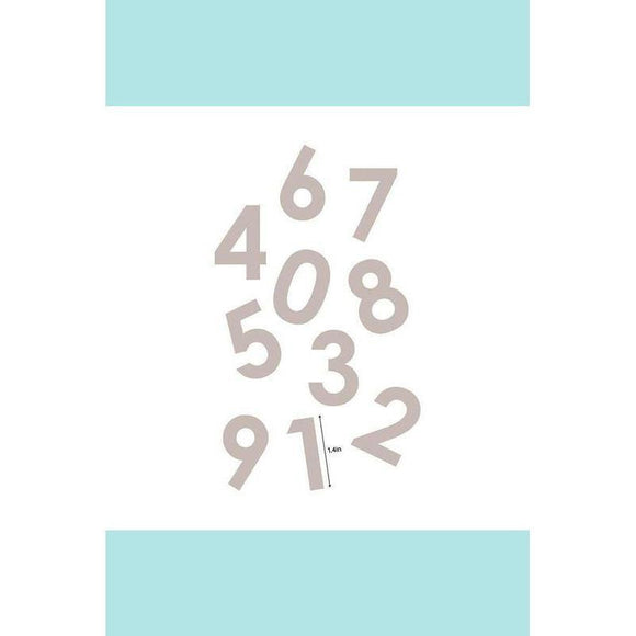 Couture Creations Quilting Essentials Applique Die - Numbers