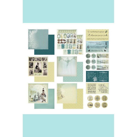 Couture Creations Sea Breeze Collection - Collection Pack - Sea Breeze Set