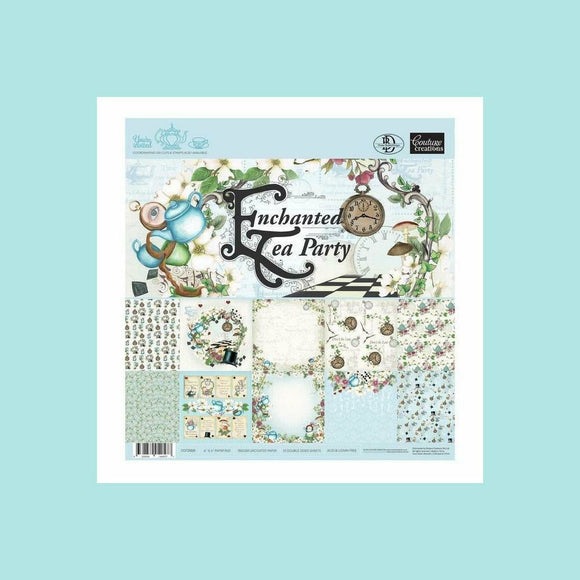 Couture Creations Dies Enchanted Tea Party Paper Pad