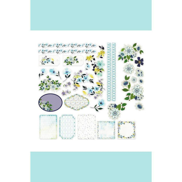 Couture Creations - La Petit Jardin - Ephemera Set (36pc) (Assorted Sizes)