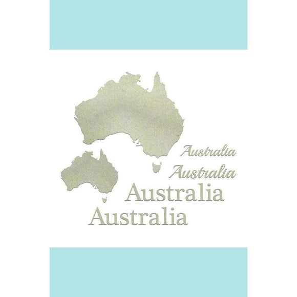 Ultimate Craft Chipboard - Australiana Set (8pc)