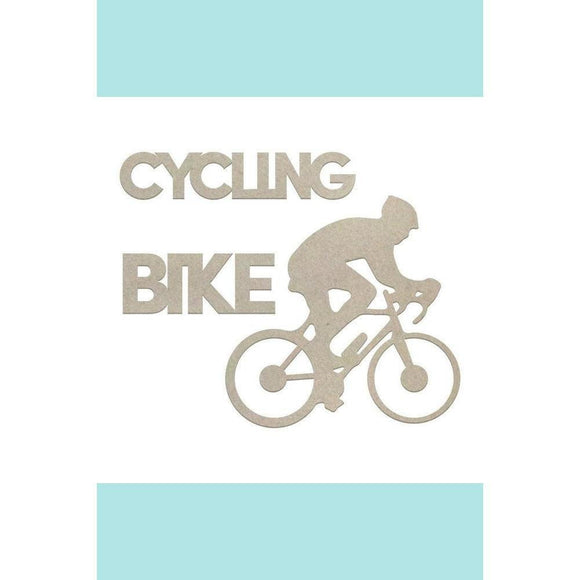 Couture Creations Chipboard - Boys - Cycling Set (3pc)