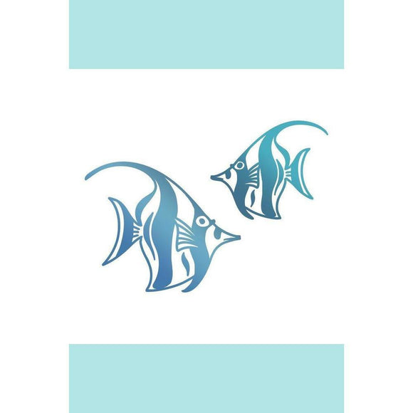 Couture Creations Hotfoil Stamp - Seaside & Me Collection - Angel Fish