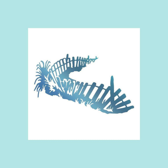 Couture Creations Hotfoil Stamp - Seaside & Me Collection - Boundary