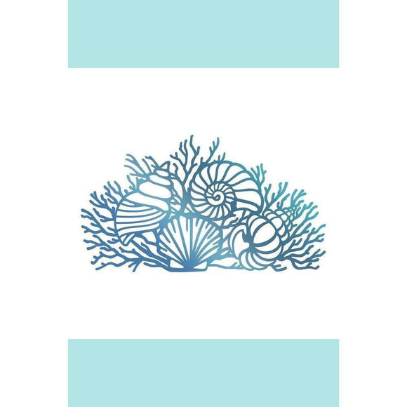 Couture Creations Hotfoil Stamp - Seaside & Me Collection - By The Seashore