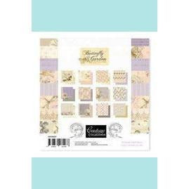 Couture Creations - Butterfly Garden 6 x 6 inch Pad