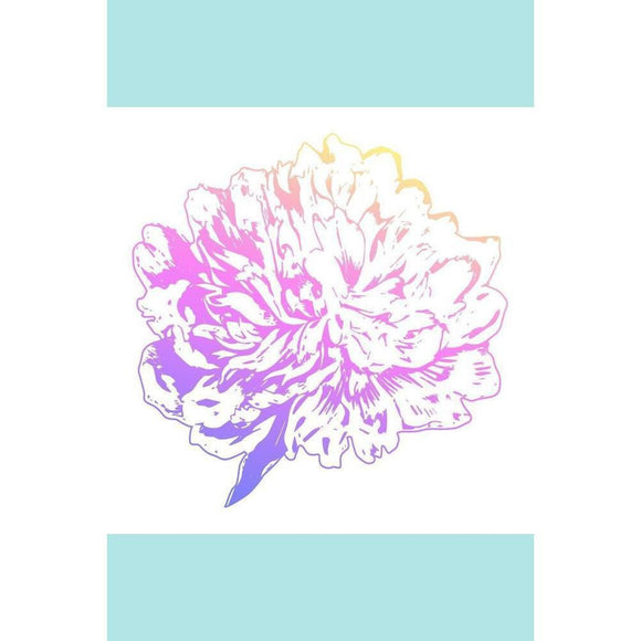 Couture Creations - Butterfly Garden - Mini Stamp - Peony Flower