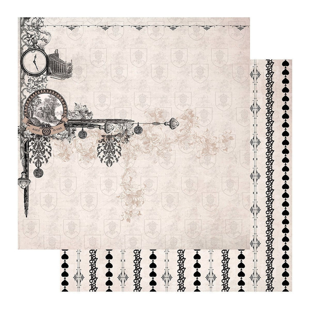 Couture Creations - 12 x 12 inch Sheets - Gentlemans Emporium Collection