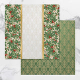 Couture Creations - Paper -12x12 - Naughty or Nice Christmas Collection - Double Sided Paper