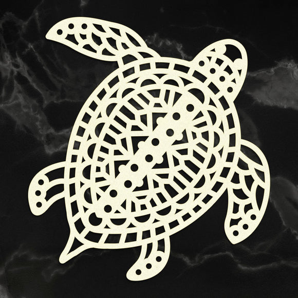 Couture Creations - Sunburnt Country - Coasterboard - Traditional Turtle (1pc) P*