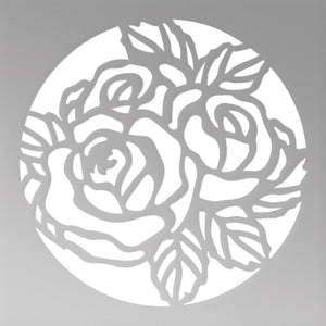 Couture Creations - Peaceful Peonies - Mini Die - Floral Circle Mini Cutting Die