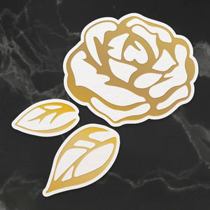 Couture Creations - My Secret Love Collection -  Lush Rose (3pc) Cut and Create Die