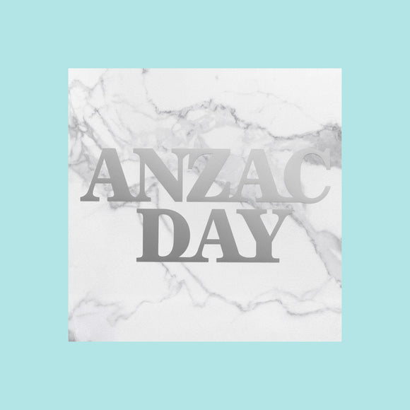 Couture Creations - Lest We Forget - Mini Die - Anzac Day