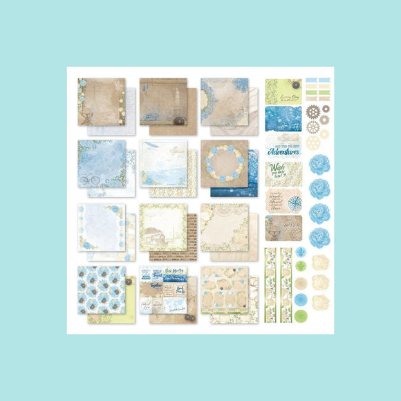 Couture Creations - New Adventures - Collection Pack 12 x 12 inch