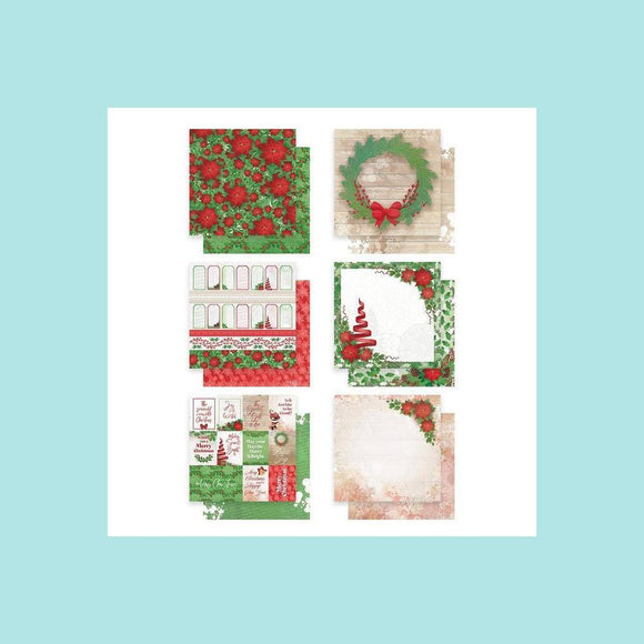 Couture Creations - The Gift of Giving Collection - Paper Pack - Merry Little Christmas