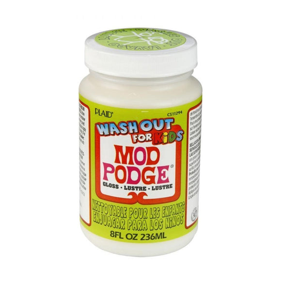Plaid - Mod Podge Kids Glue Wash Out 8 Oz