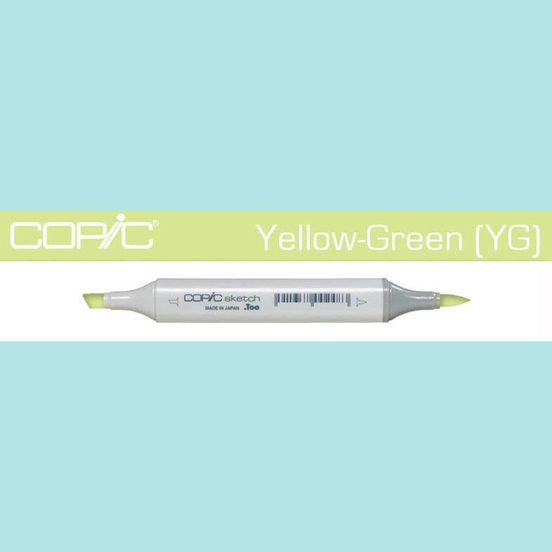 Copic Markers SKETCH  - Yellow Green [YG] Collection