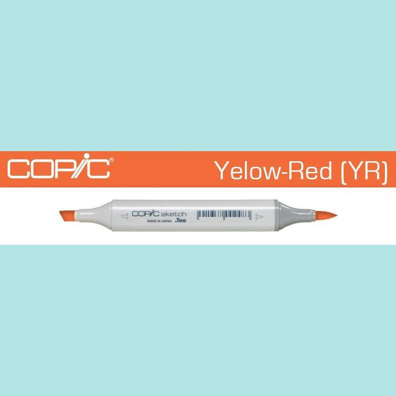 Copic Markers SKETCH  - Yellow Red [YR] Collection