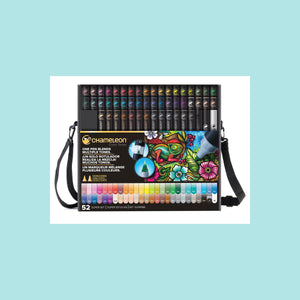Chameleon Color Tones Marker Pens - 52 Super Set In Case