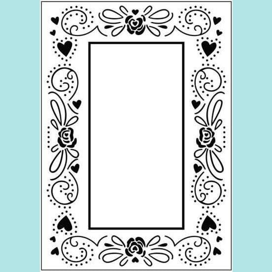 Craft Too - Embossing Folder - Happy Valentines