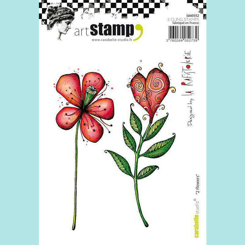 Carabelle Studio - Stamps A6 - Flowers by La Rafistolerie