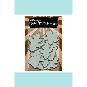 Brutus Monroe Chipboard Elements Autumn Leaf