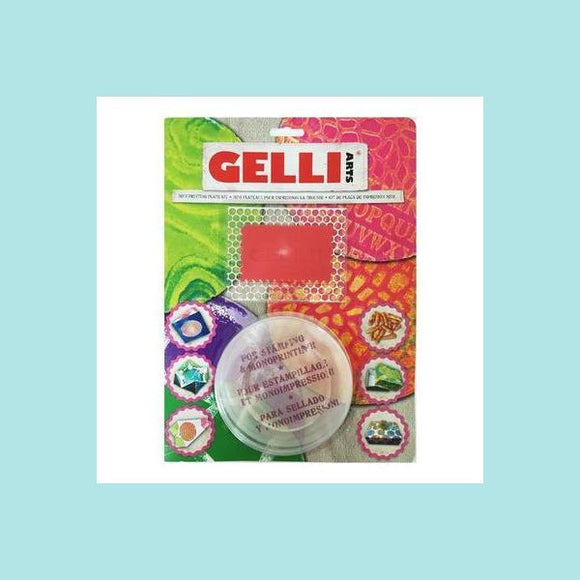 GELLI ARTS - Mini Kit - Round Plate