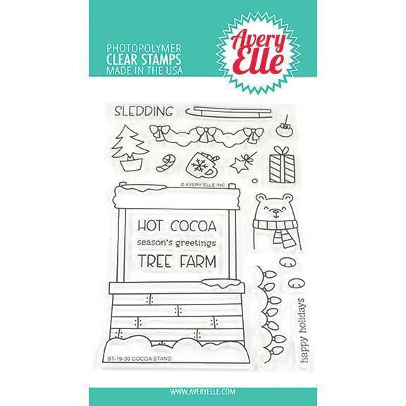 Avery Elle - Cocoa Stand Clear Stamps and Die