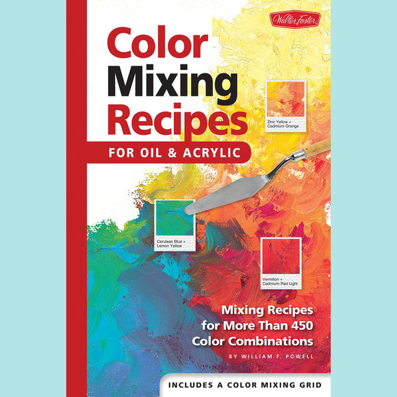 Color Mixing Recipes - For Oil and Acrylic - Book